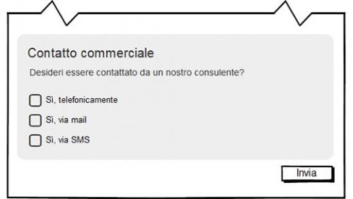 adeguamento gdpr sito web contatto commerciale